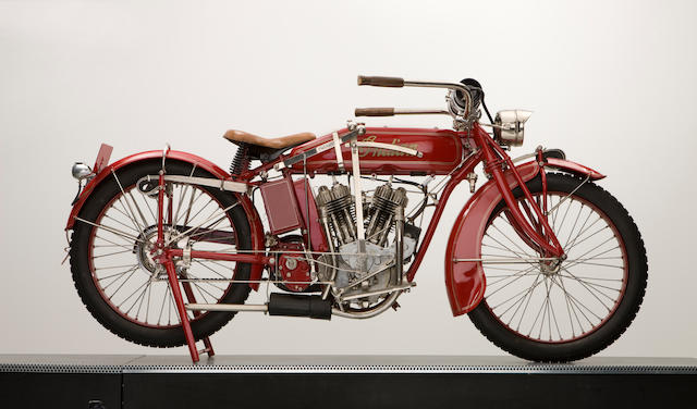 1917 Indian 7hp Powerplus with sidecar Engine no. 72J867