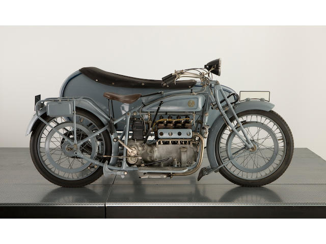 1926 FN Combination 750cc M50 Four Cylinder,