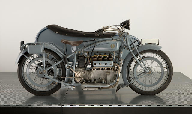 1926 FN 748cc M50 Four Motorcycle Combination Engine no. 2007B