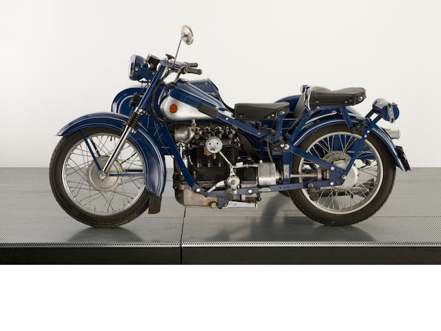1952 Nimbus with Bender Sidecar, 750cc