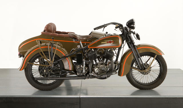 1942 Rikuo V-twin Military Livery