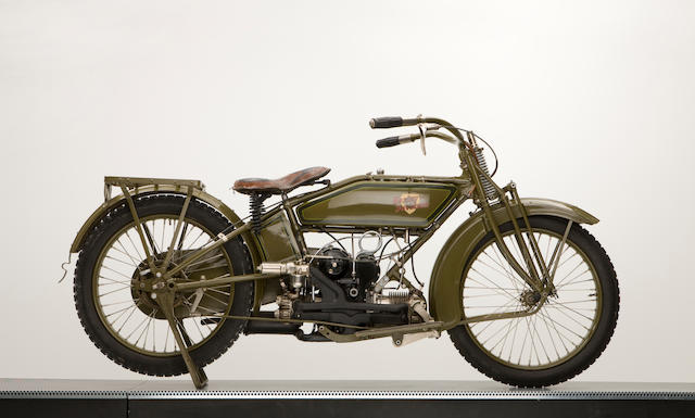 1919 Harley-Davidson Horizontally opposed twin 500cc,