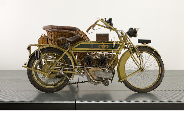 1921 Matchless Model H Wicker Sidecar,