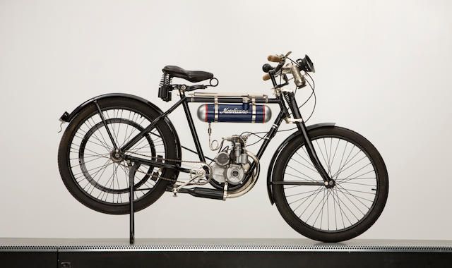 c.1923 Motobecane BMA Type B1 Engine,