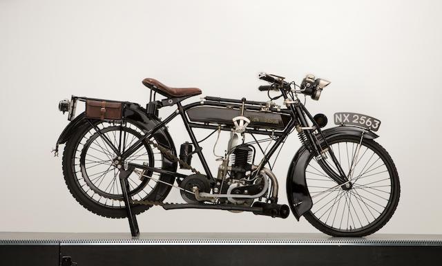 16c.1920 New Hudson 250 TS.,
