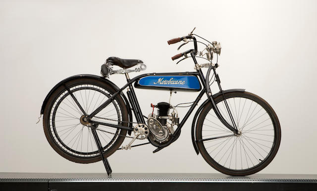 c.1930 Motobecane Two stroke Lightweight Type MB3
