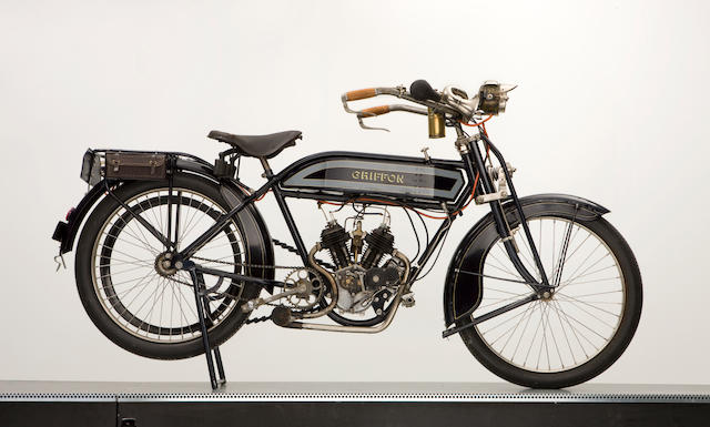 c.1912/1913 Griffon 500cc V-twin Frame no. To be advised Engine no. To be advised