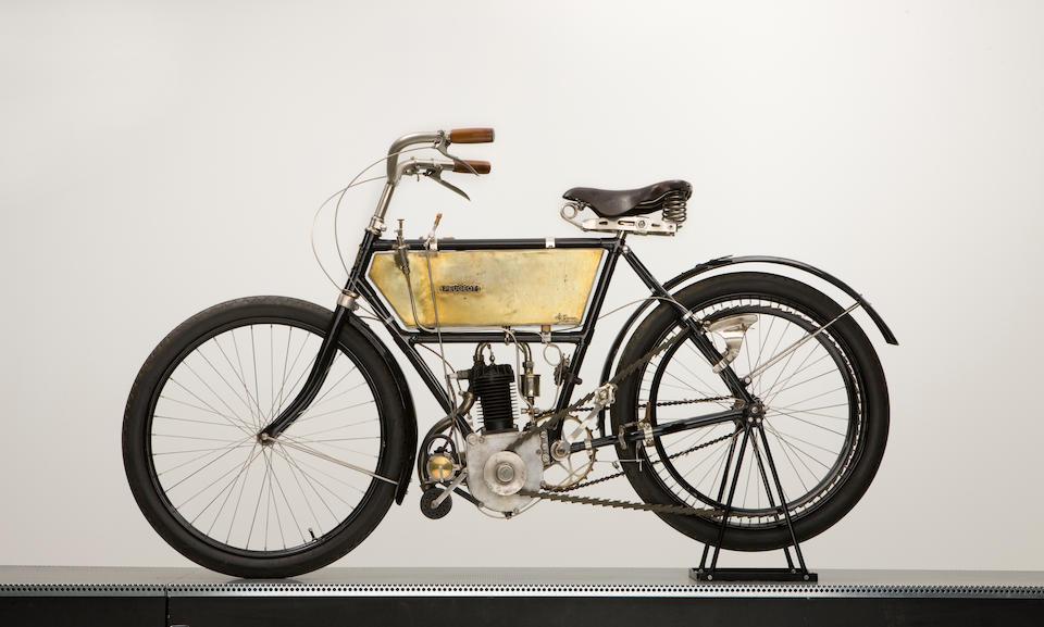 1903 Peugeot 2hp Engine no. 1218