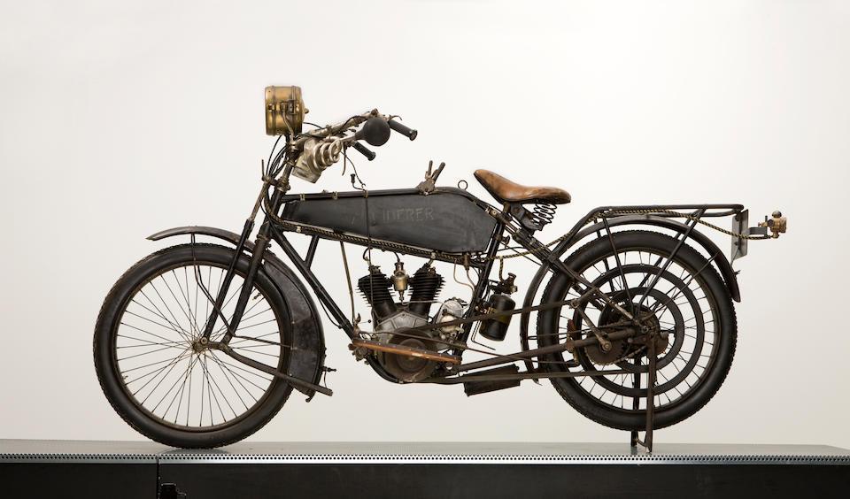 1916 Wanderer 4hp V-Twin Frame no. 261522 Engine no. 15286