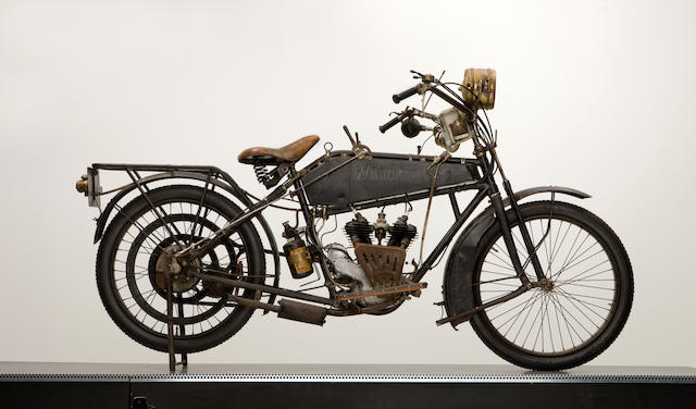 1916 Wanderer 4hp V-Twin Frame no. 261522 Engine no. 15286