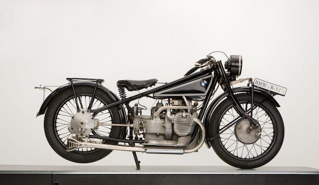 1929 BMW R52 500,