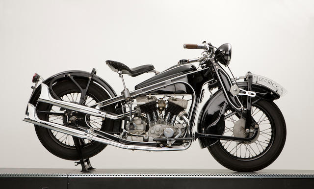 1938 PMZ A-750 V-Twin Frame no. 2893 Engine no. 38A 2601
