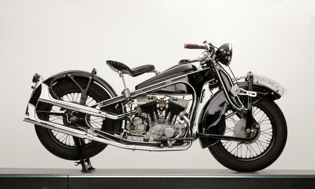 1938 PMZ A-750 V-Twin Frame no. 2893 Engine no. 38A 2601