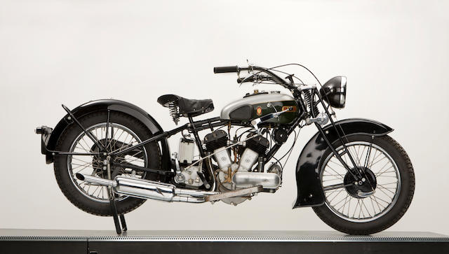 1934 BSA 1000cc V-twin,