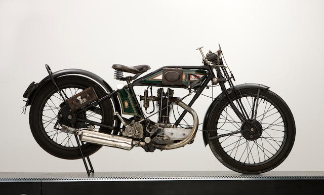 1927 BSA 349cc Model L27 Super-Sports Frame no. 116773 Engine no. D627