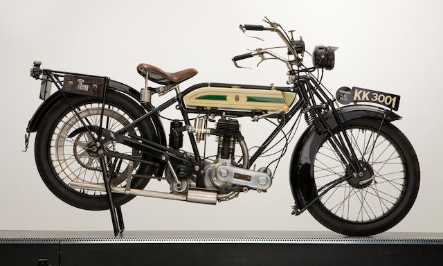 1923 Triumph 550cc SD Engine no. 98171