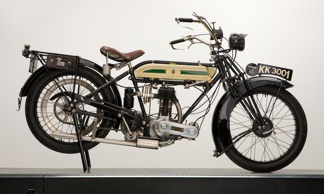 1923 Triumph 550cc SD Engine no. 98171