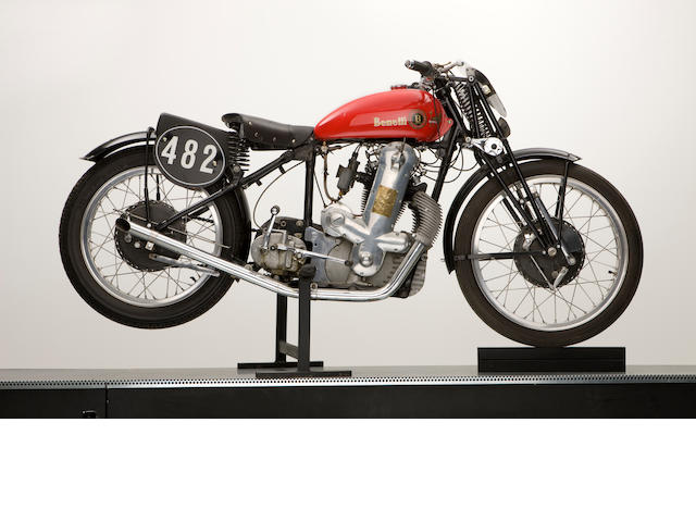 1934 Benelli Cascada 500cc OHC Motor Type 4 TN, Motor No. 10-5411 (on brass plate)