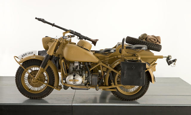 BMW R7 Africa Corps Combination & Trailer,