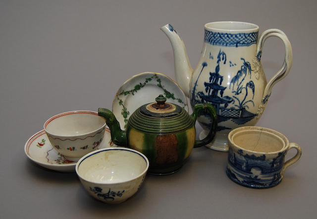 A small collection of ceramics