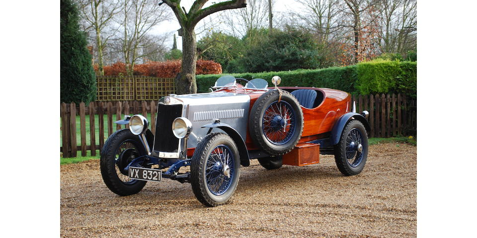 1930 Lea-Francis 12/40hp W-Type Sports  Chassis no. 18116 Engine no. 10131