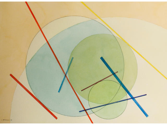 L. Leronesi (20th Century) Abstract