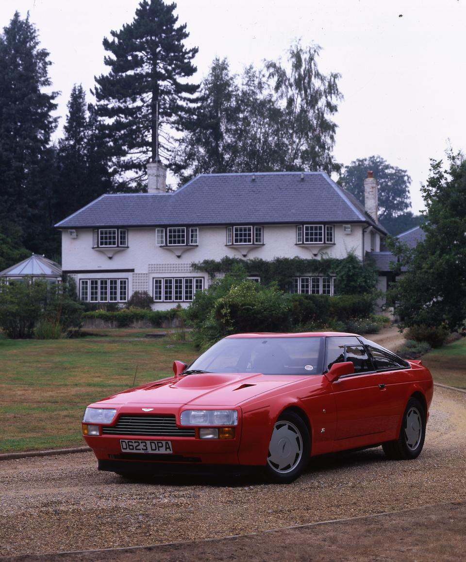One owner since 1987, 12,000 miles from new,1987 Aston Martin V8 Vantage Zagato Coupé  Chassis no. SCFCV81ZGTR20019 Engine no. V/580/0019/X