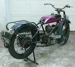1926 Zenith-JAP 678cc Frame no. 10215 Engine no. 58891
