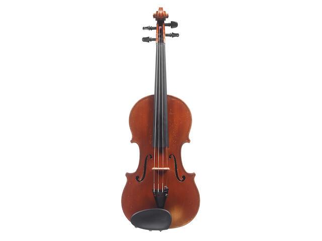 An Italian Violin by Hannibal Fagnola Turin, 1928 (2)