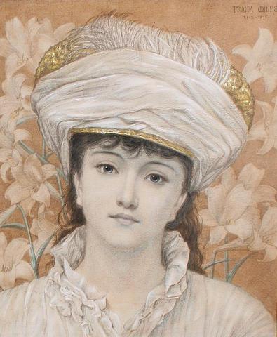 George Frank Miles (1852-1891) Spring