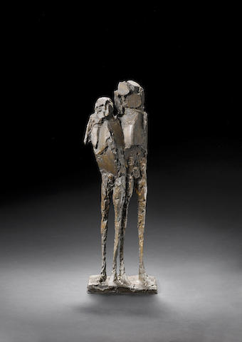 Dame Elisabeth Frink R.A. (British, 1930-1993) Assassins I 55.9 cm. (22 in.) high (including base)