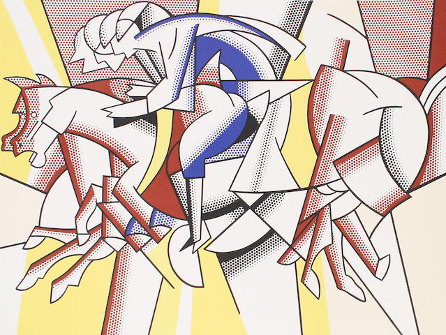 Roy Lichtenstein (American, 1923-1997) 'Los Angeles 1984 Olympic Games',