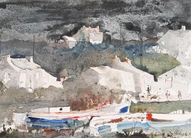 John Knapp Fisher Porthgain Harbour, Pembrokeshire