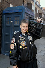 Dragonfire, 1987 onwards Ace (Sophie Aldred) - A complete principle costume, comprising;