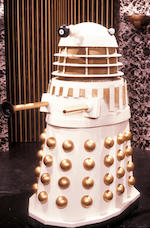 Remembrance of the Daleks, October 1988 An Imperial Dalek (Mk 1) - altered for Exhibition purposes,
