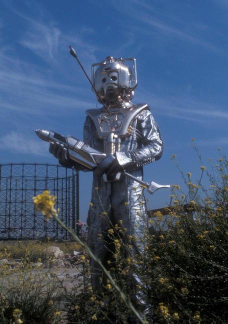 Silver Nemesis, November 1988 A Cyberman costume,