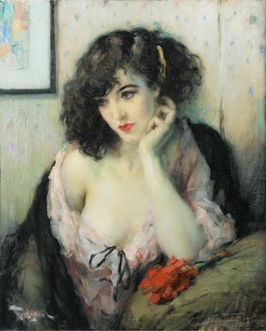 Fernand Toussaint (Belgian, 1873-1955) Contemplation
