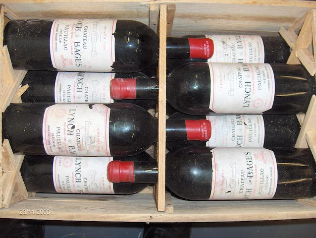 Chateau Lynch Bages 1961 (12)