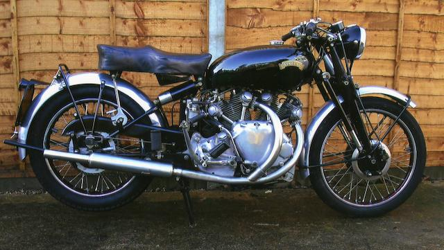 In current ownership since 1952,1950 Vincent 998cc Series-C Rapide  Frame no. RC5350 Engine no. F10AB/1/3450