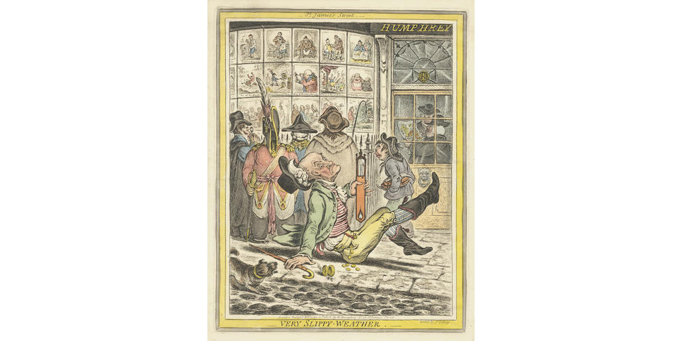GILLRAY (JAMES) Very Slippy-Weather