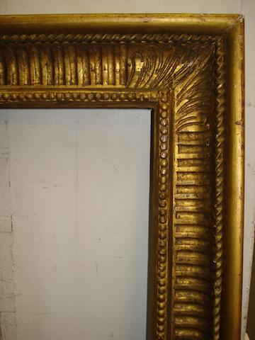 A French 19th Century gilded composition frame
