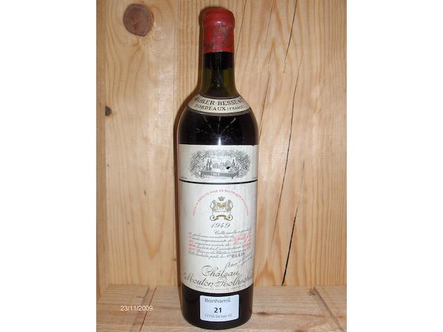 Chateau Mouton Rothschild 1949 (1)