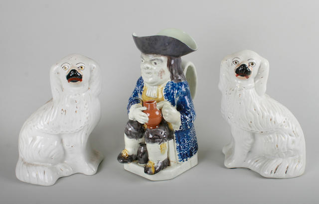 An early 19th Century Pearlware Toby jug