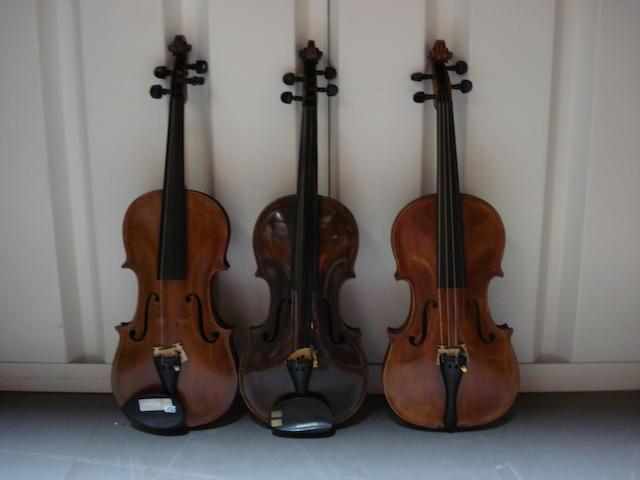 A Violin of the Schoenbach School, circa 1920 (3)