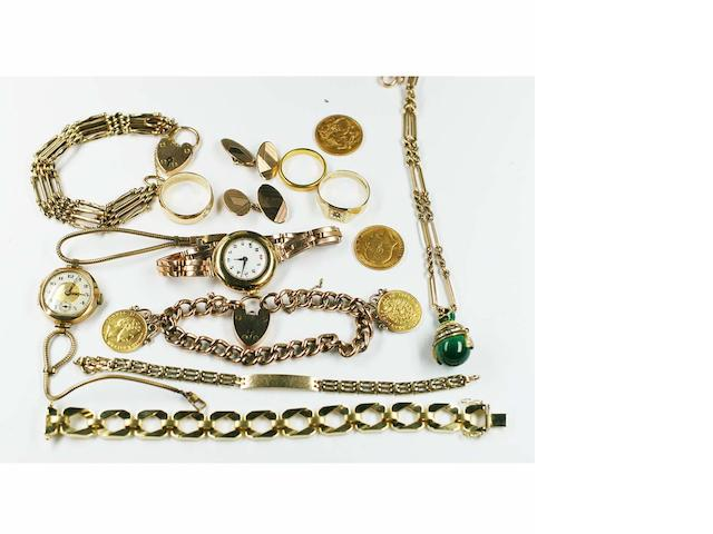 A quantity of jewellery