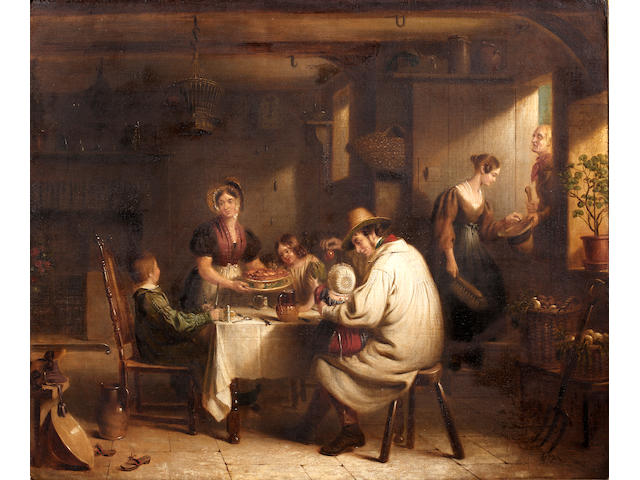 "Edward Prentis (1797-1854) ""Industry"" and ""Idleness"""