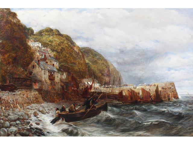 Charles Thomas Burt (British, 1823-1902) 77 x 115cm
