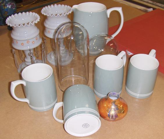 A set of four Wedgwood large mugs by Keith Murray