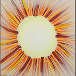 Sir Terry Frost, R.A. (British, 1915-2003) Sunburst Yellow and Red 1998 56 x 56 cm. (22 x 22 in.)
