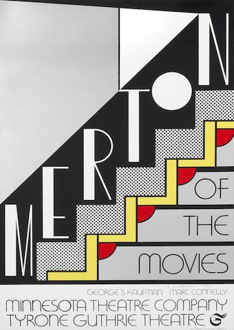 Roy Lichtenstein (American, 1923-1997) 'Merton of the Movies', 1968